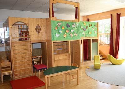 Gruppenraum im Kindergarten Samerberg
