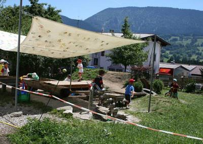 Außenbereich Kindergarten Samerberg